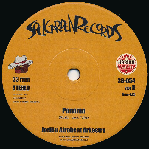 Bomb (Ultimate Take)/ Panama / JariBu Afrobeat Arkestra